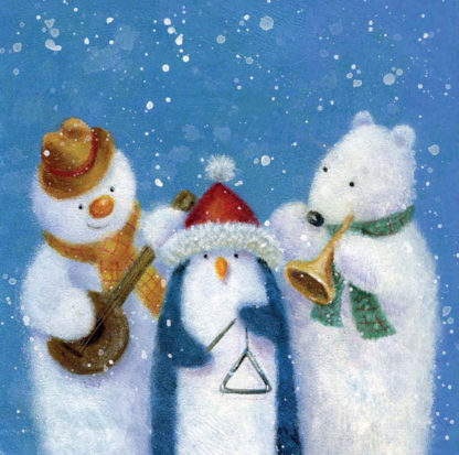 Musical Friends Christmas Cards