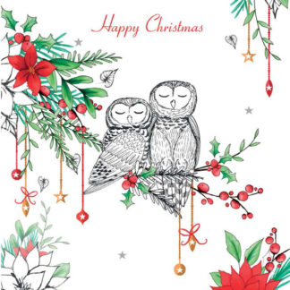 Owl Christmas Cards